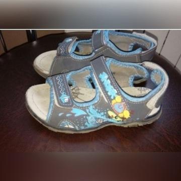 Sandałki dla chłopca roz.30 dł.wkł.19cm