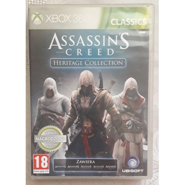 Assassin's Creed Heritage Collection PL / X360