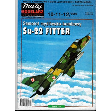 Mały Modelarz 10-11-12 2003 SU-22 FITTER 1:33 mode