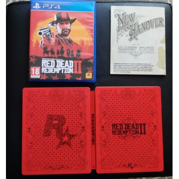 Red Dead Redemption 2 PS4 PL / Steelbook Edition