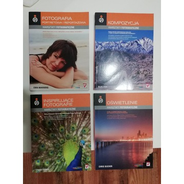 Warsztaty fotograficzne - komplet książek (4 szt.)