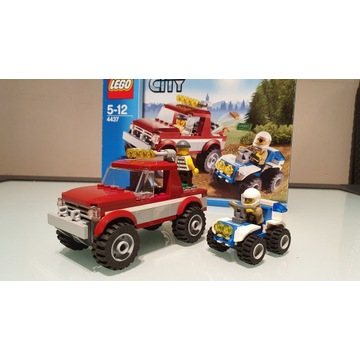 Lego City 4437 Pościg Policyjny