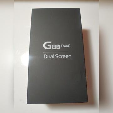 LG G8X Black Dual Screen GWARANCJA + dodatki
