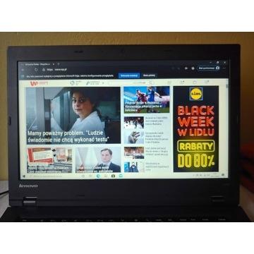 Laptop Lenovo ThinkPad L440 4GB RAM Dysk 500GB