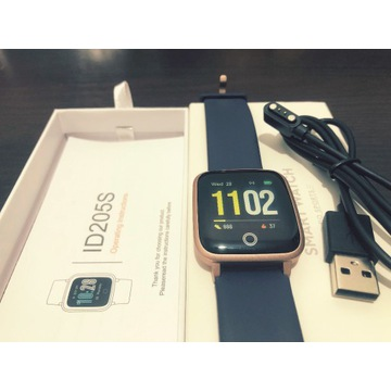 Nowy Smartwatch ID205S Fitpolo. Android/iOS.