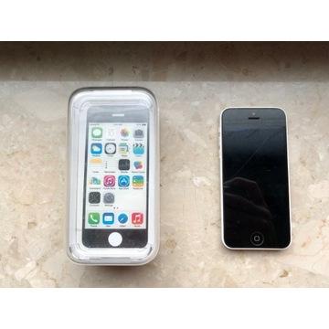 iPhone 5C Biały Uszkodzony 16GB