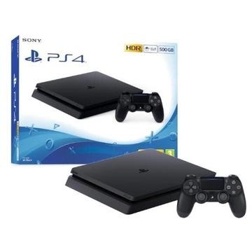 Konsola PlayStation 4 + 2 kontrolery w zestawie
