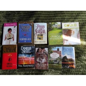 Zestaw książek literatura kobieca Daniel Steel