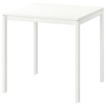 stolik biały MELLTORP ikea 75x75