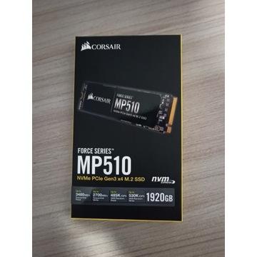 Dysk SDD Corsair MP510 1.92TB NVMe