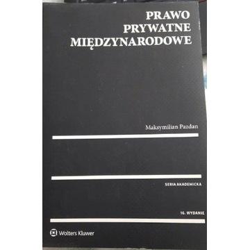 Książka prawo prywatne międzynarodowe