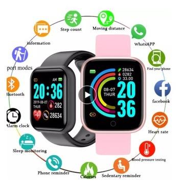 Inteligentny zegarek kompatybilny ze smartfonem!