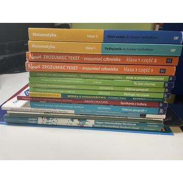 Książki Liceum 1 klasa
