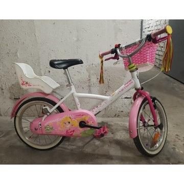 Rower btwin 16 dla dziewczynki