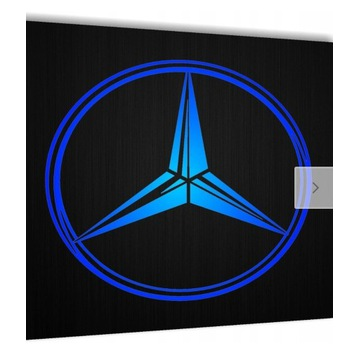 Logo mercedes led