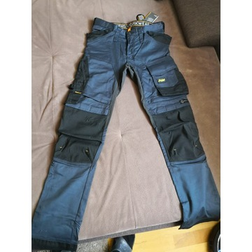 Spodnie robocze Snickers Stretch 6341 r. 148 blue