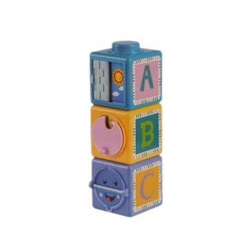 Kostki sensoryczne zabawka kostki sensoryczne 0+