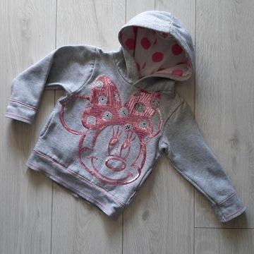 Bluza z Minnie rozm.XS (92/98) znanej firmy Disney
