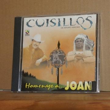 cd224. CUISILLOS DE ARTURO MACIAS HOMENAJE A JOAN