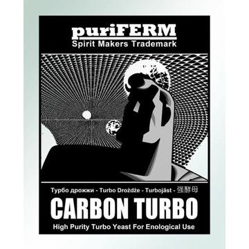 Puriferm Carbon Turbo do wódek, zacierów