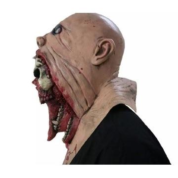 Maska zombie Helloween
