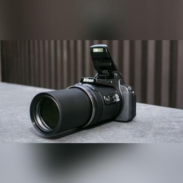 Nikon P900 + pokrowiec + karta 64GB
