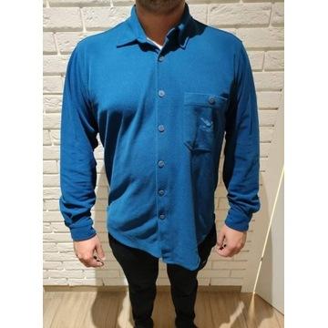 Niebieska koszulka męska