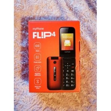 myPhone Flip 4 czerwony