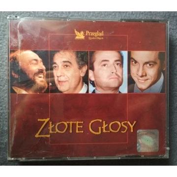 """Składanka """"Złote głosy"""" Domingo, Pavarotti i inni"""