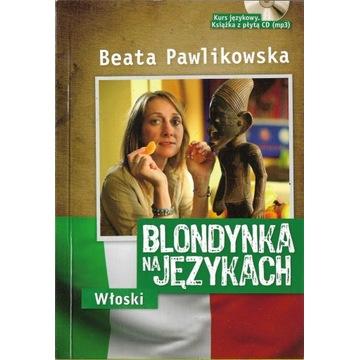 Blondynka na językach Włoski + CD