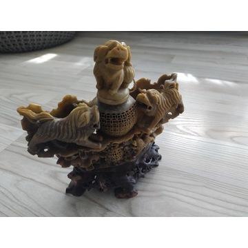 Kamień mydany/steatyt - lampa aromatyczna