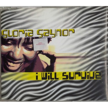GLORIA GAYNOR I will survive MAXI SINGLE 1998