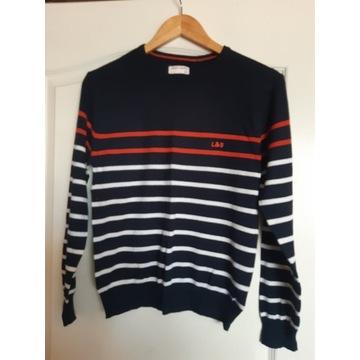 Sweter chłopięcy w paski, rozm. 158