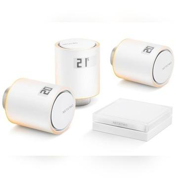 Netatmo Inteligentny termostat do domu + 3 głowice