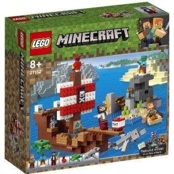 LEGO 21152 Minecraft Przygodana statku pirackim
