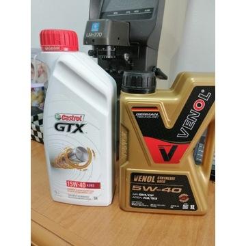 Olej silnikowy 15W-40 i 5W40