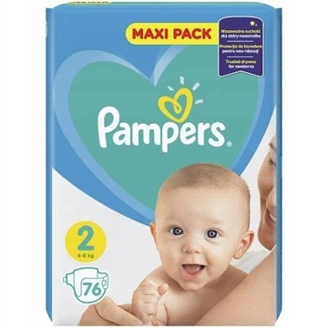 PAMPERS ACTIVE BABY 2 76,SZT