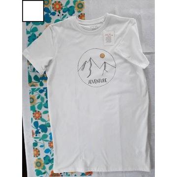 Ręcznie malowany t-shirt