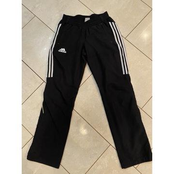 Adidas spodnie dresowe S/M czarne joggery, dresy