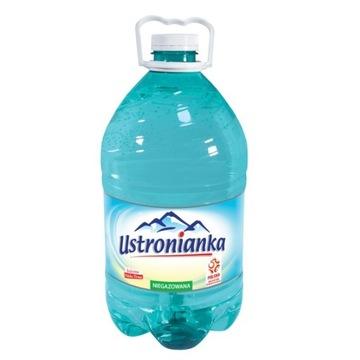 Woda niegazowana źródlana Ustronianka 5l pet promo