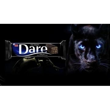 Eti DARE Dark Wafel w ciemnej czekoladzi 50g 12szt