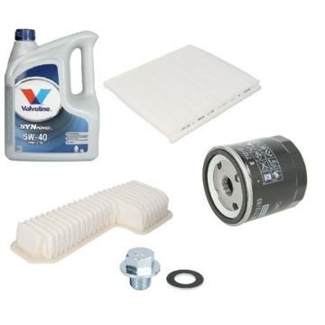 Zestaw filtrów i oleju Lexus IS200 1G-FE 2.0