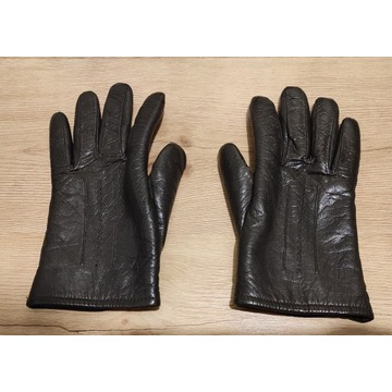 Rękawiczki Damskie Skóra naturalna Nowe