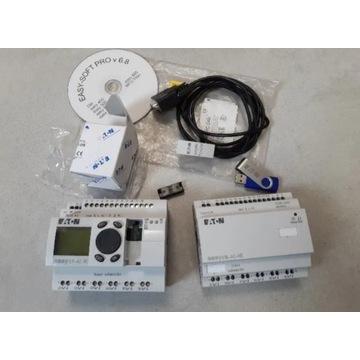 Easy EATON 819, sterownik PLC komplet soft