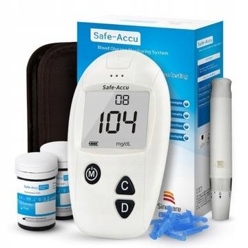 Glukometr do pomiaru glukozy we krwi CUKRZYCA