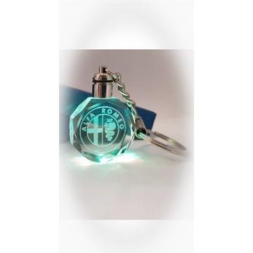 Brelok LED Alfa Romeo Crystal