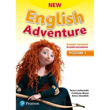 NEW ENGLISH ADVENTURE 1 ZESZYT ĆWICZEŃ PEARSON