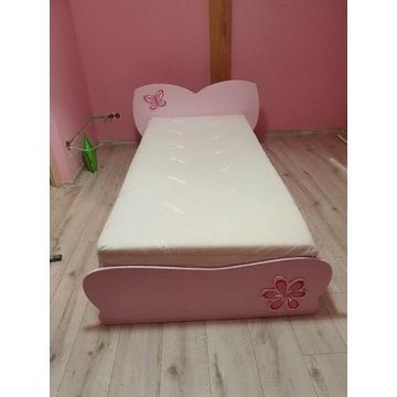 Łóżko dziecięce 90x200 z materacem.