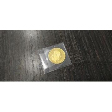 Dukat 1915 Józef Franciszek złota moneta