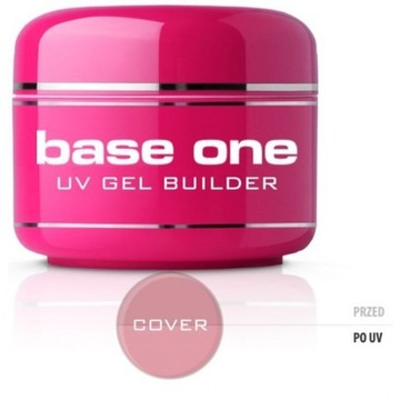 Silcare Żel do paznokci Base One Cover 30g